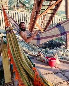 #mancrusheveryday  #loungegamestrong #hammock #hangloose #hammocklife #summertime #flirtingwithnature #gardening #breaktime #hangout #backyardfun #chillzone #rockenvy #zeroscape #zeroscaping #rockgarden #sexybeast #guyswithbeards #lovelife #livelife #livelikeus #sexymenwithbeards by @jessbrown33