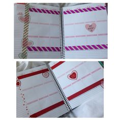 Prepping my planner for Valentines Day