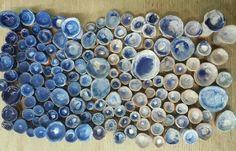 ceramics, blue