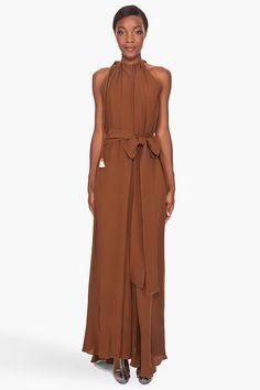 LANVIN //  LONG GRECIAN DRESS