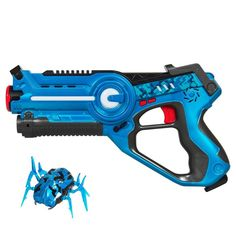 Kids Infrared Laser Tag Blaster Toy Set w/ Robot Bug, 4 Play Modes Megalodon, Laser Tag Toys, Lego Custom Minifigures, Retro Arcade, Target Practice, Bouncy Castle, Motivation, Shotgun, Bricolage