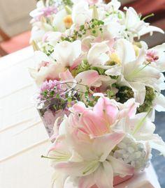 ユリ : 一会 ウエディングの花