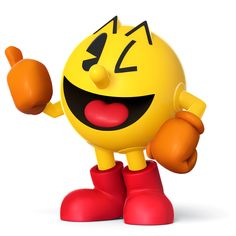 Main page for Super Smash Bros. for Nintendo / Wii U and Pac-Man. Super Smash Bros, Smash Bros Wii, Super Mario Bros, Nintendo 3ds, Wii U, Nintendo Characters, Video Game Characters, Gi Joe, Geeks