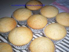 Egg Free/ Nut Free/ Dairy Free Vanilla Cupcakes | sweetrosie