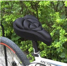 Hot Sale Bicycle Saddle Bicycle Parts Cycling Seat Mat Comfortable Cushion  Soft Seat Cover Shock Absorption c12e0fb20