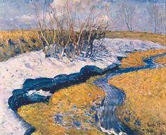 The Last Snow - Igor Grabar