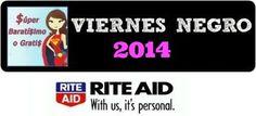 Ofertas de Viernes Negro 2014 súper baratísimo o gratis en Black Friday Rite Aid #blackfriday
