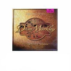 Dean Markley 2004 Vintage Bronze Acoustic Guitar Strings - Medium Light
