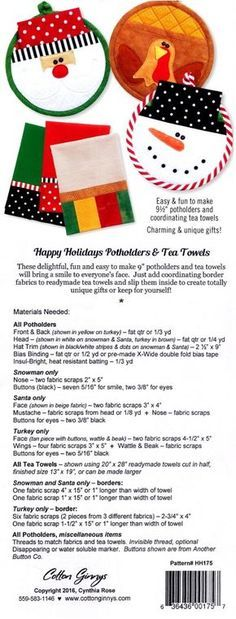 Apple pot holders | Crafts | Pinterest | Potholders, Sewing projects ...