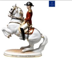 Augarten Porcelain - Spanish Riding School Levade with Rider