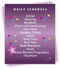 Preschool Information