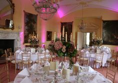 A pink inspired wedding for a beautiful couple at Luttrellstown Castle Resort