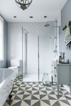 A Once Dark and Dingy Bathroom Is Now a Spacious Retreat