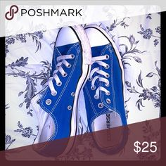 2467a17ed518 Royal Blue Converse size 9 Women s size 9 royal blue converse. In good  condition as