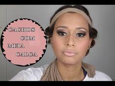 Cachos/0ndas Com Meia Calça - YouTube
