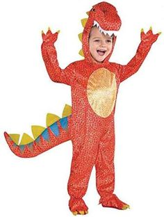 Amscan Kids Dinomite Dinosaur Fancy Dress T-Rex Costume: Amscan: Amazon.co.uk: Toys & Games