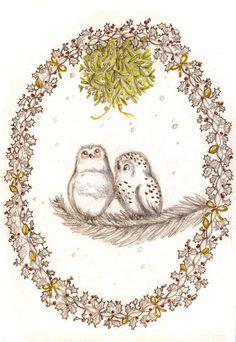 Under the mistletoe... by ~WinterImp on deviantART