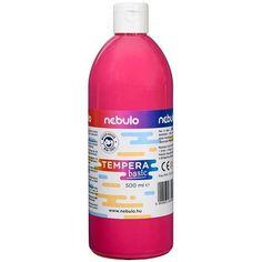 Akciós ! Ft Ár Nebuló tempera nagy kiszerelésben 500 ml - Rózsaszín Ft Ár 690 Tempera, Drink Bottles, Vitamins, Water Bottle, Drinks, Drinking, Beverages, Water Bottles, Drink