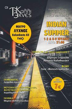 "Like-Share-Win στον M-word Web Radio  Δηλώστε συμμετοχή και κερδίστε 1 διπλή πρόσκληση για κάθε μια από τις 4 παραστάσεις του θεατρικού έργου ""Indian Summer"" στις 1-2/7 και 8-9/7  Με 2 μόνο κλικ: 1. κάνε LIKE στη σελίδα μας http://ift.tt/1Vwj0BX 2. κάνε share τη φωτογραφία του διαγωνισμού  Οι δυο πρώτοι νικητές για τις 1-2/7 θα ανακοινωθούν μετά απο κλήρωση στην εκπομπή Moments με το Γιάννη Ασημακόπουλο την Πέμπτη 29/6 στις 22.00. Visit http://ift.tt/1oZ0u3k for more."