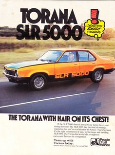 my stepfather had one same colour too Australian Muscle Cars, Aussie Muscle Cars, Holden Torana, Holden Australia, Australian Vintage, Van Car, Car Brochure, Sports Sedan, Car Advertising