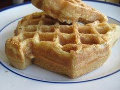 Sourdough waffles -- fast and crispy