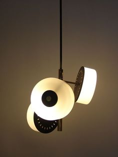 Anonymous; Ceiling Light by Stilnovo, 1950s.