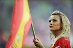 Spanish fans - Euro 2012 in Pictures.