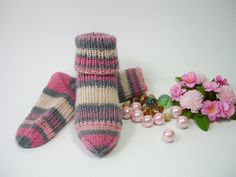 Baby girl socks month size US 3 UK 2 hand knitted woolen socks multicolor socks hand knit baby socks unique socks girl socks fashion Knitting Socks, Hand Knitting, Woolen Socks, Unique Socks, Girls Socks, Fashion Socks, Trending Outfits, Unique Jewelry, Handmade Gifts