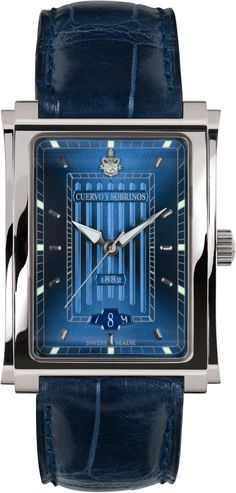 Cuervo y Sobrinos Watch Prominente Clasico Vintage Watches For Men, Luxury Watches For Men, Patek Philippe, Skeleton Watches, Swiss Army Watches, Hand Watch, Expensive Watches, Rolex Datejust, Tag Heuer