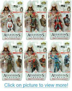 Assassin's Creed Brotherhood 1:18 Figure Set Of 6 #Assassins #Creed #Brotherhood #1:18 #Figure #Set