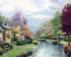 Thomas Kinkade Painting 105.jpg