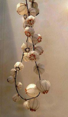 Jewelry artist Dorit Schubert's lace technique inspired jewelry