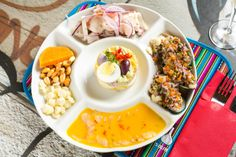 Imagine to be in Peru at a market place with authentic craftsmanship, ceviche made table side at the patio and a more formal fare in the restaurant.