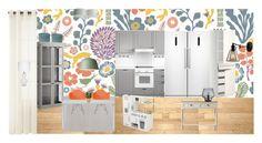 """Kök"" by annajosefinelarsson on Polyvore featuring interior, interiors, interior design, home, home decor, interior decorating, Colonial Mills, Royal Velvet, Dash & Albert and Rove Concepts"