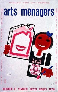 Les Arts Décoratifs - Site officiel - Salons des Arts ménagers - Affiche du Salon des Arts Ménagers, 1976