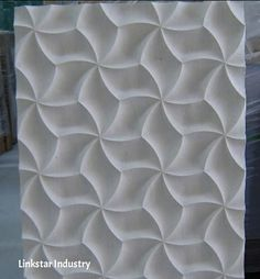 3D Cnc carved feature stone wall covering panel is a new way to change the wall surface. www.linlinstone.com