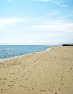 beach at metaponto, Italy