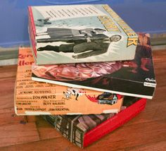 Craft Knife: Record Album Cover Box Tutorial, Here We Come!