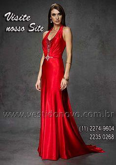 6aa216dea a LOJA VESTIDO NOVO, é especializada em vestido de Alta Qualidade, também  na linha