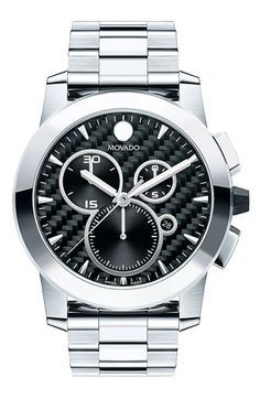 567769bba43 Movado  Vizio  Chronograph Bracelet Watch available at  Nordstrom Stainless  Steel Bracelet