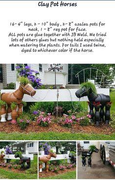 Clay Pot Horses  p1                                                                                                                                                      More