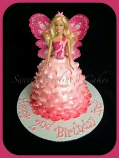 Fairy dolly varden cake!