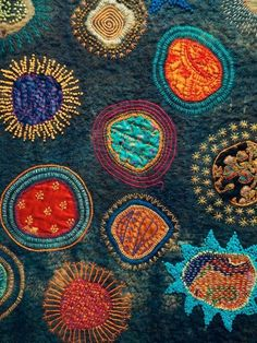 Festival of Quilts in UK. Work by Dijanne Cevaal. http://origidij.blogspot.nl/