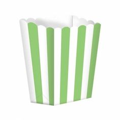 Lot 5 cornets pop corn - candy bar vert