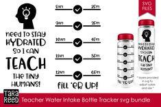 10 Water Ideas Water Water Bottle Tracker Water Tracker