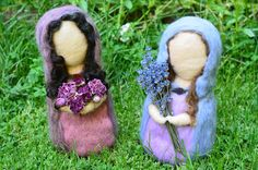 A Mountain Hearth: Lady Lavender and Lady Rose