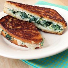 Two of our favorite things just happen to be grilled cheese sandwiches and spinach artichoke dip. So, as we puttered in the kitchen one day we thought, why not combine the two? These delicious melts are the result of our experimentation. Deliciously cheesy, with all the flavor of a greatGet the Recipe