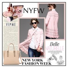 """NyFw"" by mujkic-merima ❤ liked on Polyvore featuring women's clothing, women, female, woman, misses, juniors, NYFW and vipme"
