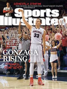SI Cover: Gonzaga rising with power forward Kyle Wiltjer Best Basketball Shoes, College Basketball, Ncaa College, San Francisco Basketball, Gonzaga Basketball, Gonzaga University, Si Cover, Sports Illustrated Covers, College Hoops