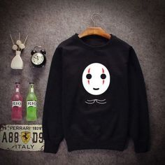"Harajuku cartoon fleece pullover  Coupon code ""cutekawaii"" for 10% off"